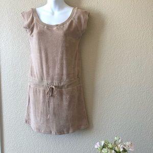 BCBGMAXAZRIA terry cloth dress medium NWOT